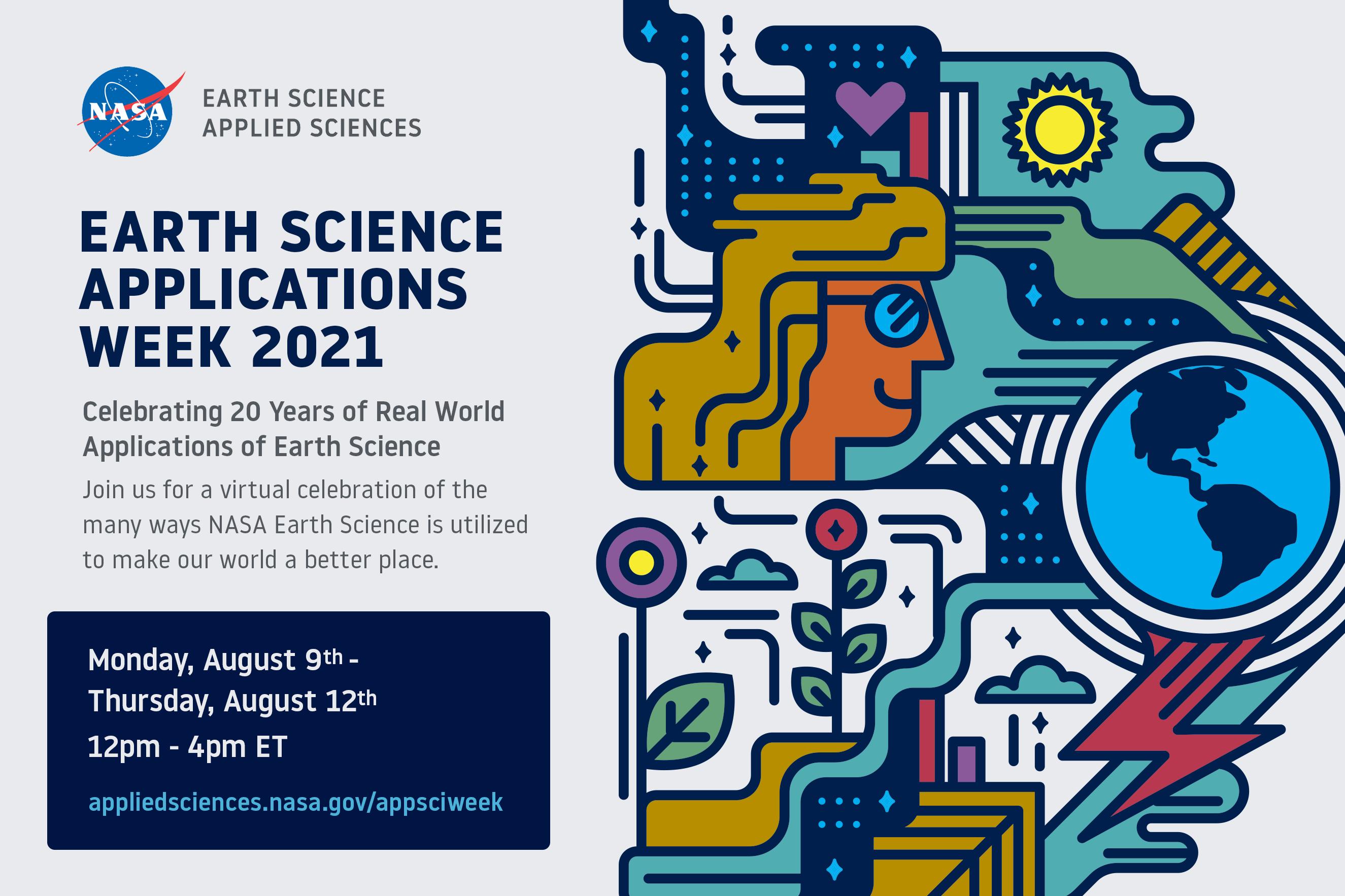 Earth Applied Sciences Week invitation card