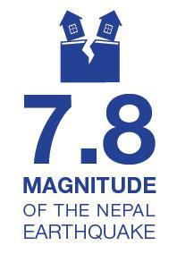 7.8 magnitude of Nepal Earthquake