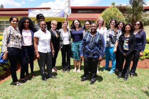 Participants of the SERVIR Service Planning, Workshop in Nairobi, Kenya