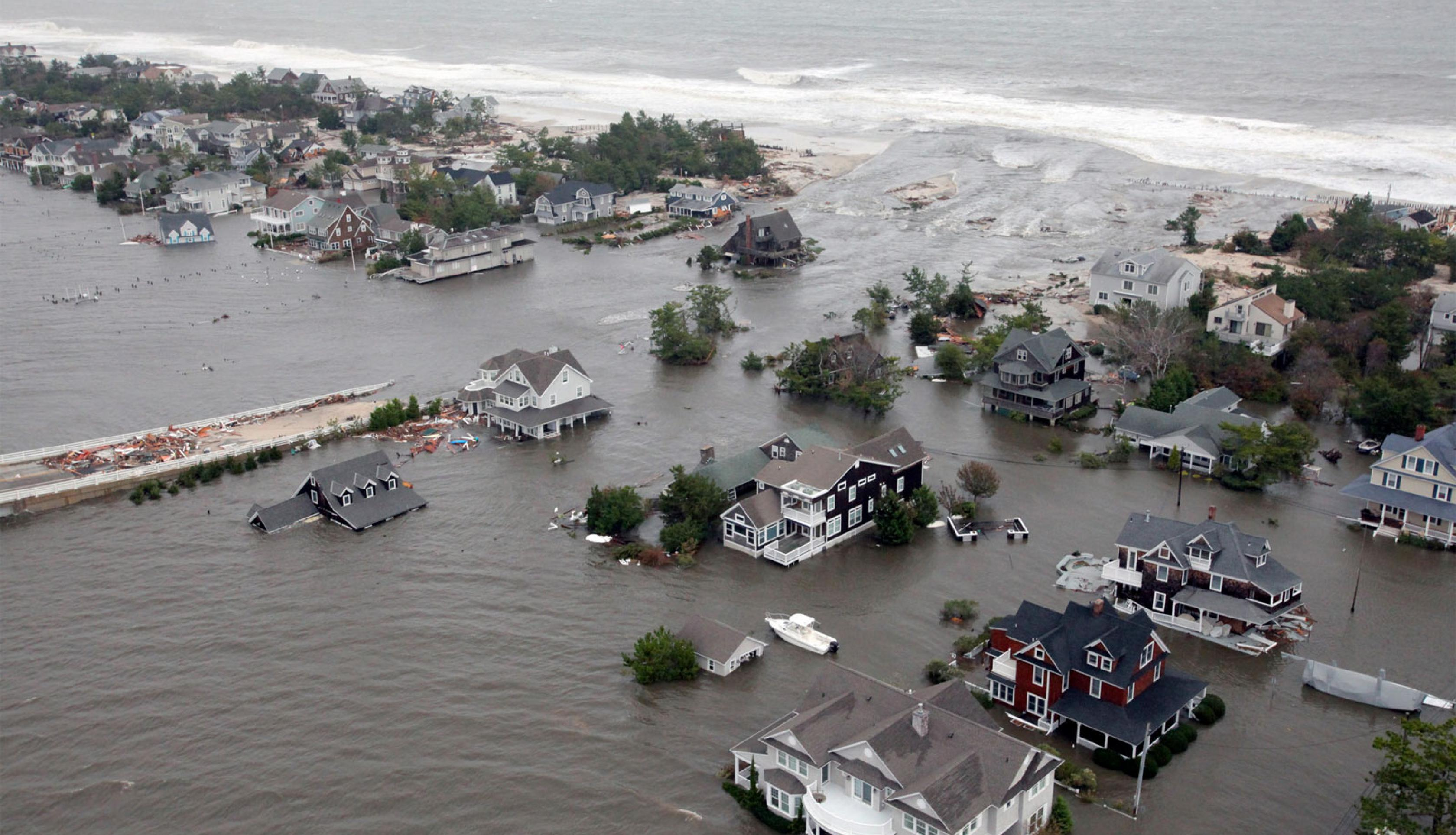 Superstorm Sandy flooding in New Jersey