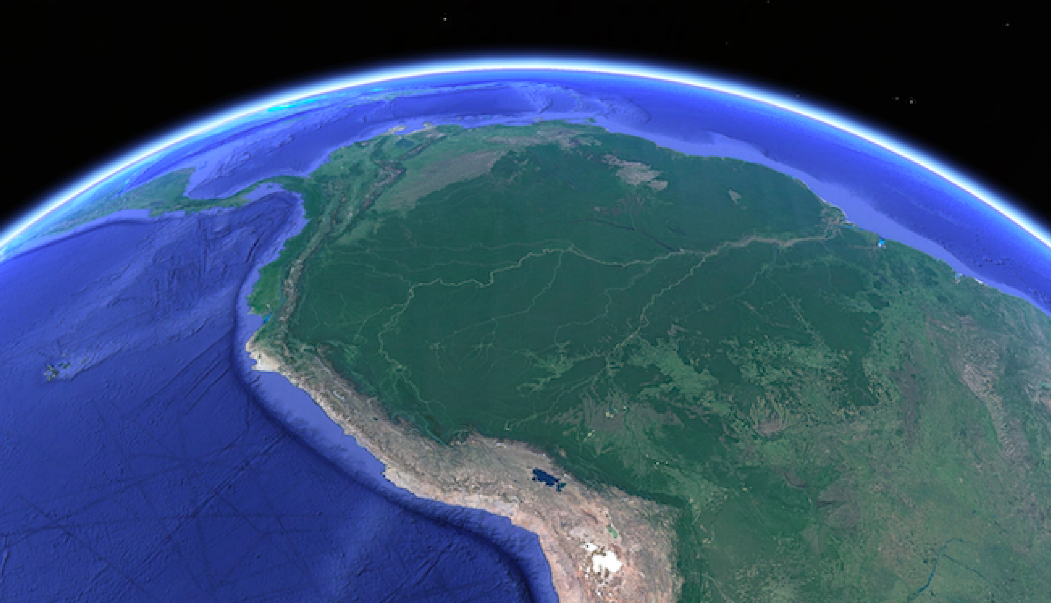 Google Earth image of Brazil - SERVIR Amazonia
