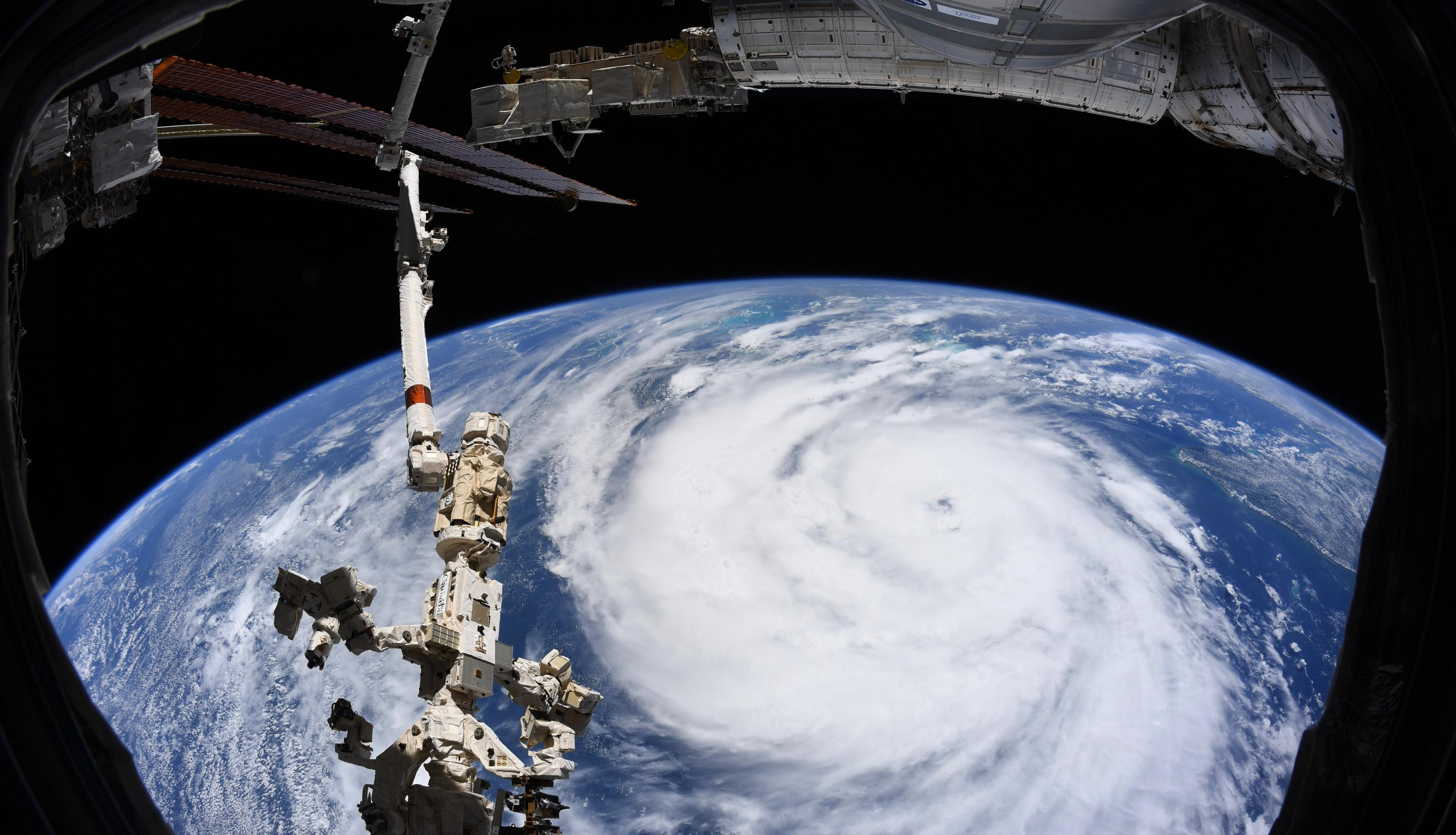 Astronauts onboard the International Space Station (ISS) captured this photograph of Hurricane Ida on Aug. 29, 2021. Click here to learn more about how ISS photography is used to monitor disasters and provide situational awareness to aid response efforts on the ground. Credits: European Space Agency