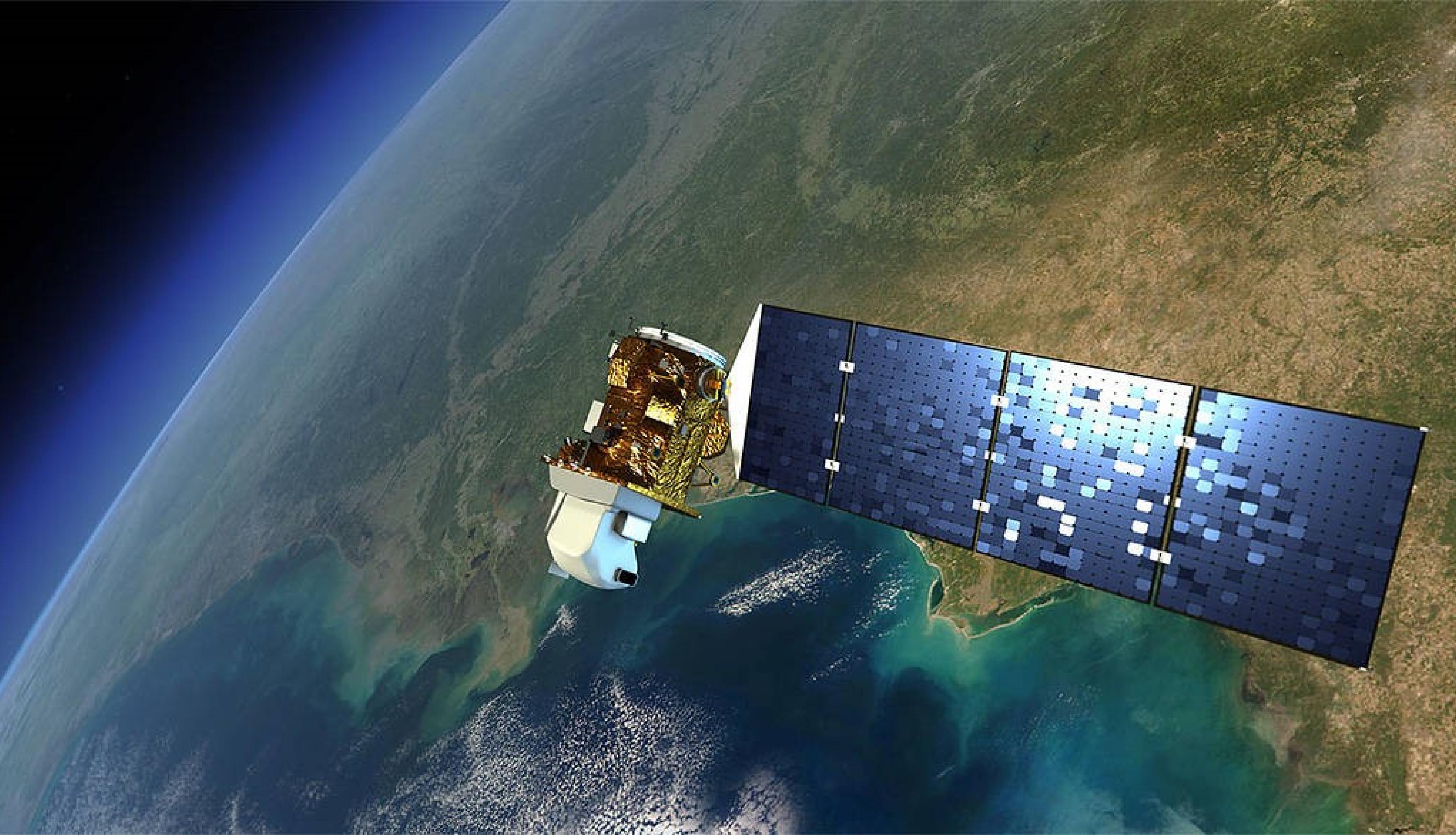 Landsat-8 collects frequent global multispectral imagery of Earth's surface, adding to the continuous Earth remote sensing data set created by previous Landsat missions. The data from Landsat spacecraft constitute the longest existing record of Earth's continental surface on a global basis. Credits: NASA