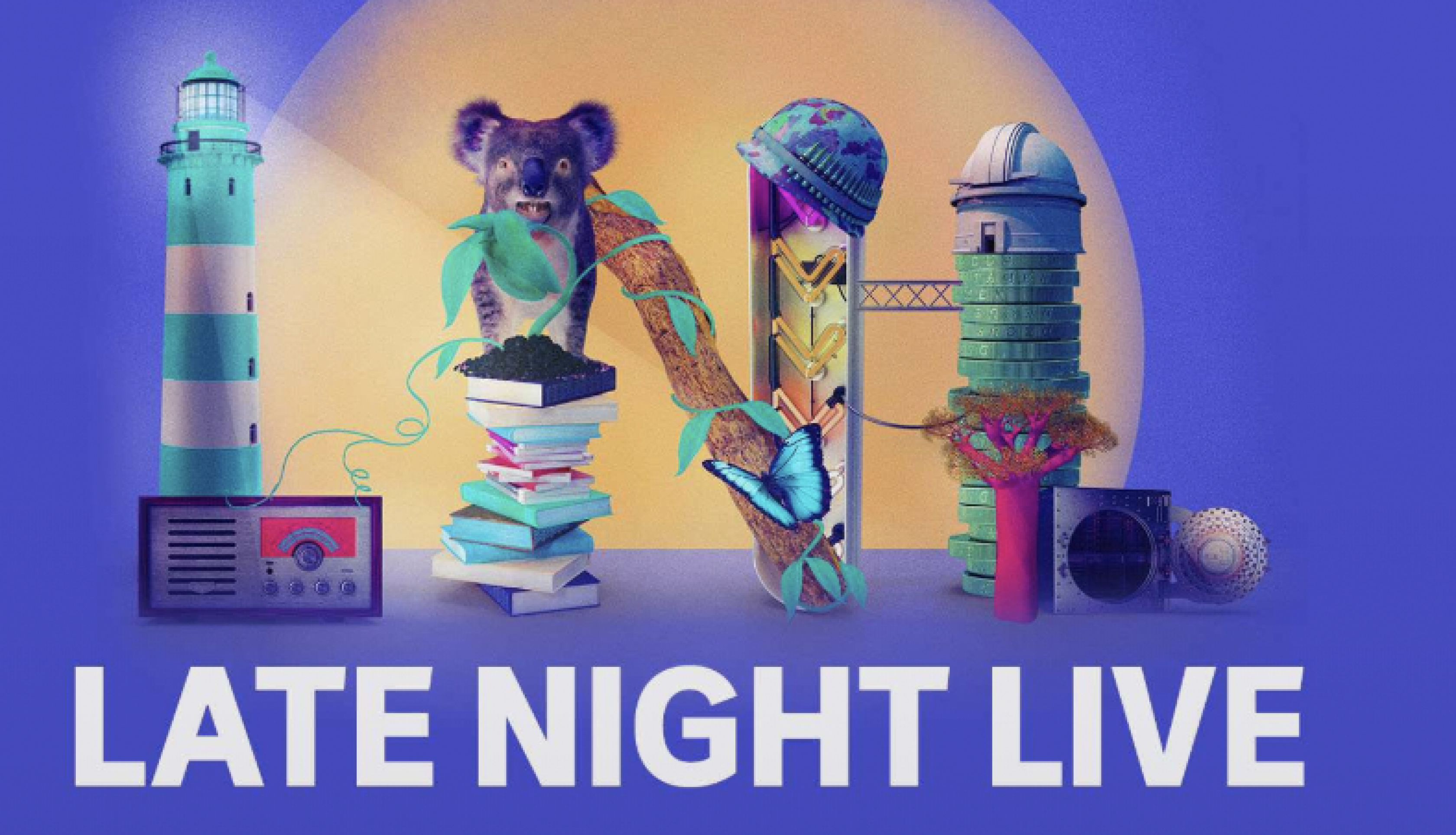 Late Night Live banner