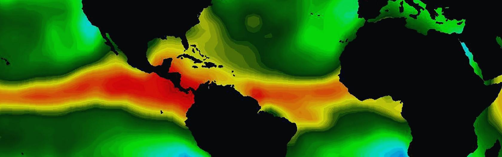 Global Views of Atmospheric Water Vapor: First Data from OSTM/Jason-2 Advanced Microwave Radiometer