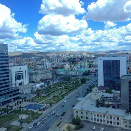 photo of city in Mongolia