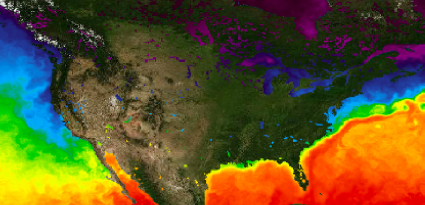 Screenshot of Ocean GIS