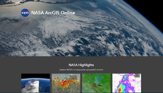 Screenshot of the geospatial tool