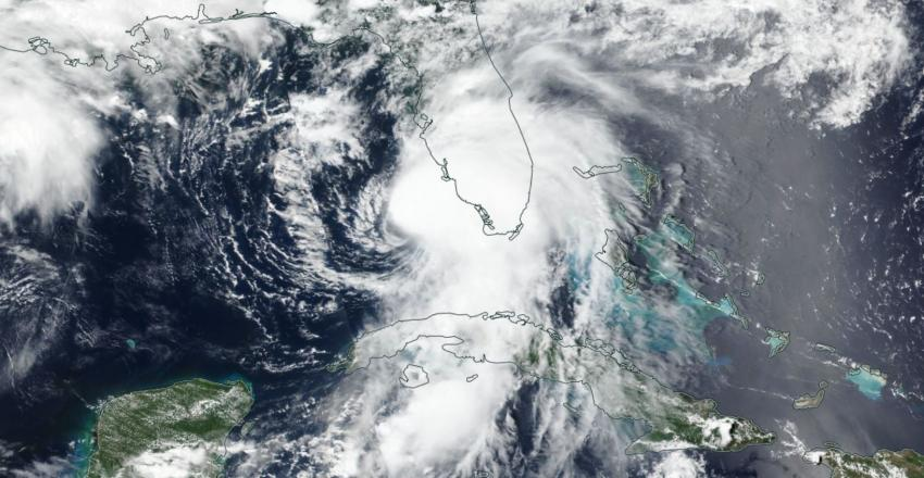 The NASA / NOAA Suomi NPPsatellite captured this image of Tropical Storm Elsa over Florida on July 6, 2021. Credits: NASA Worldview, NASA Earth Observing System Data and InformationSystem (EOSDIS)