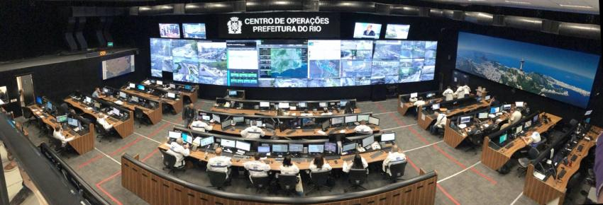 The Center for Operations for Rio de Janeiro, Brazil, built upon Kirschbaum's framework to make a customized model for landslide monitoring within the city of Rio de Janeiro. Credits: NASA / Dalia Kirschbaum